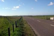 Road looking northwest
