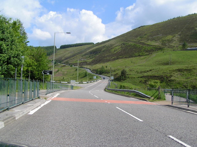 Road out of Maerdy