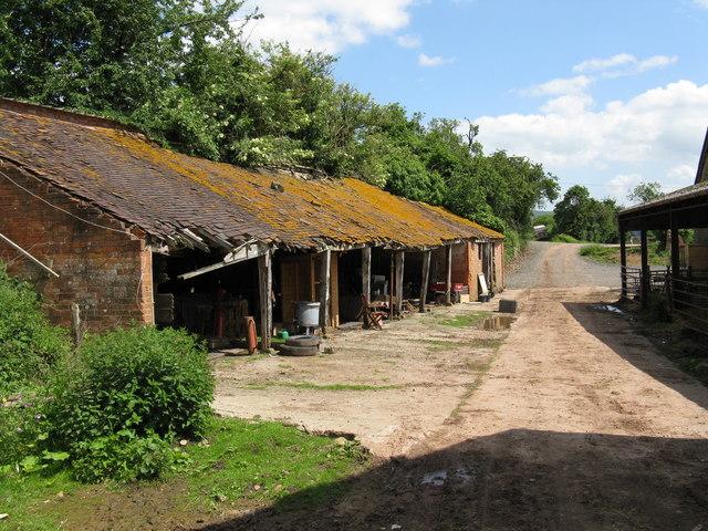 Hope End Farm - the lower yard