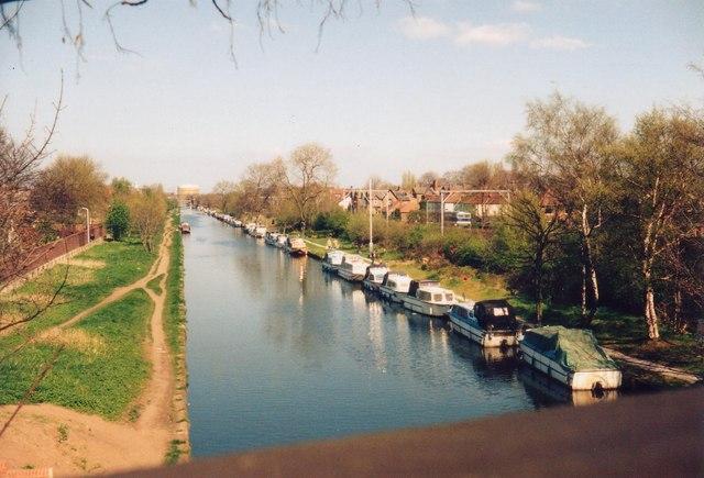 Bridgewater Canal from Brooklands Bridge