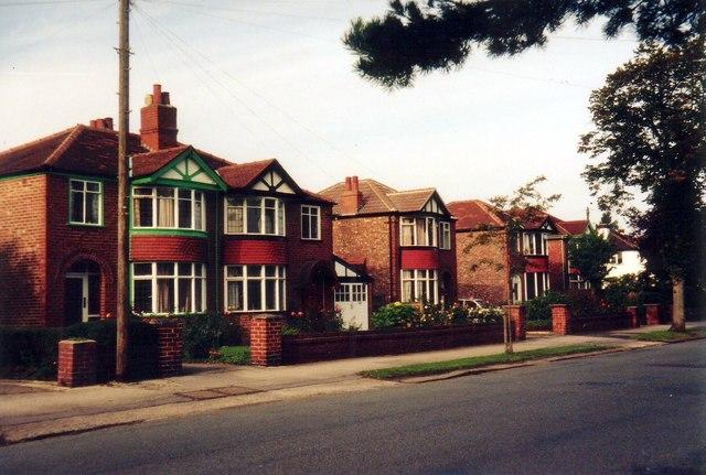 Sale - Derbyshire Road South houses