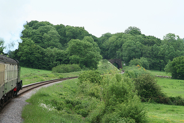 Crowcombe: the site of Leigh Loop