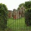 The ruins of St. Giles Leper Hospital