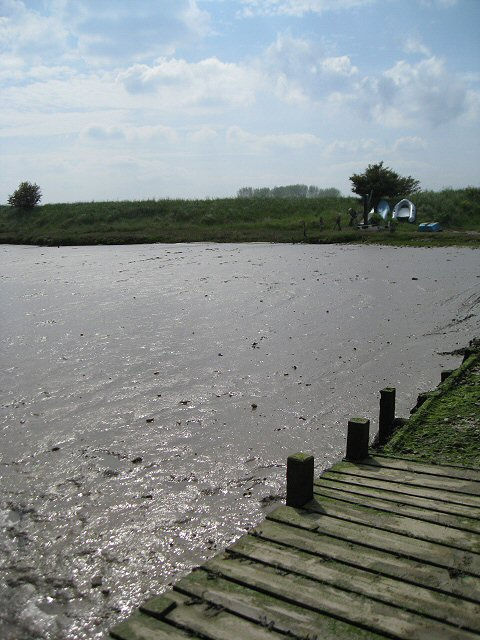 Low tide on the Butley River