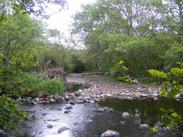 River Evelix near Rearquhar