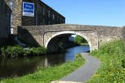 Whitefield Bridge 141, Leeds and Liverpool Canal, Nelson