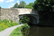 Hawk's House Bridge 136, Leeds and Liverpool Canal, Reedley