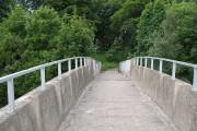 Bridge over the M8