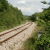 Railway  to the north of Cefn Cribwr