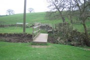 The bridge by Lothersdale sewage works