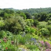 Bonsall - View across garden on Church Street