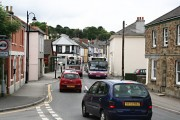 Fore Street Chacewater with Buses