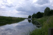 River Nene from under the Isle of Ely Way