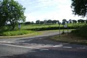 Road to Dinwoodie Green