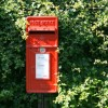 E II R postbox at Lower Wraxall