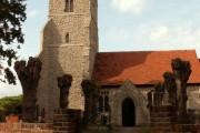 St. Peter; the parish church of Paglesham