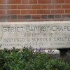 Inscribed stone on Old Bexley Baptist Chapel