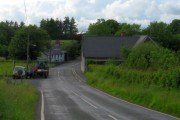 Junction and bridge in Maesybont