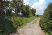 Footpath/track by Mynydd Baedan