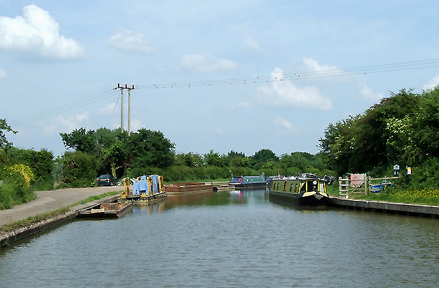 Grand Union Canal, Long Buckby, Northamptonshire