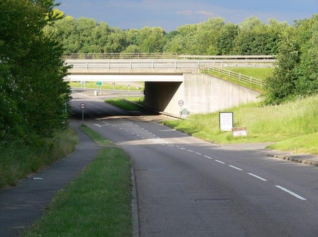 Cossington Lane in Rothley
