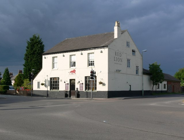 Red Lion in Rothley