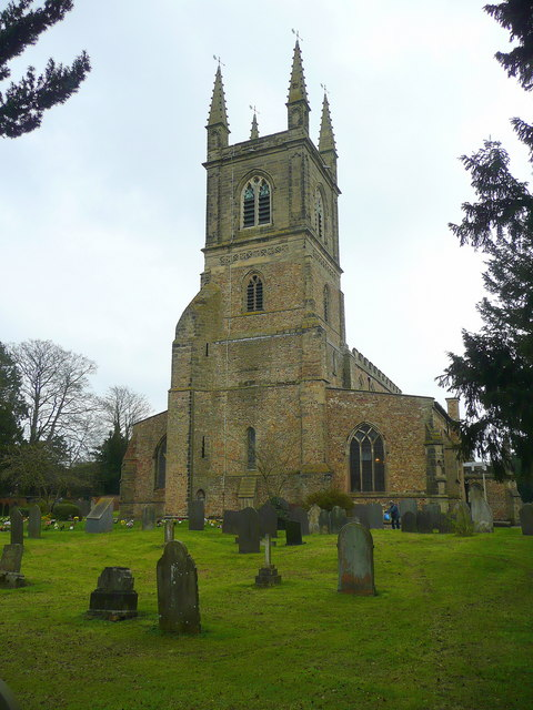 St. Mary's church, Lutterworth