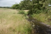 The Afon Cynffig just north of Kenfig Hill