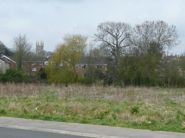 Housing in Lutterworth.