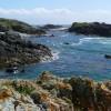Coastal colour below Ben Hynish
