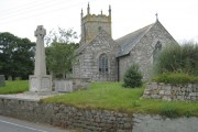 Wendron Church and war memorial