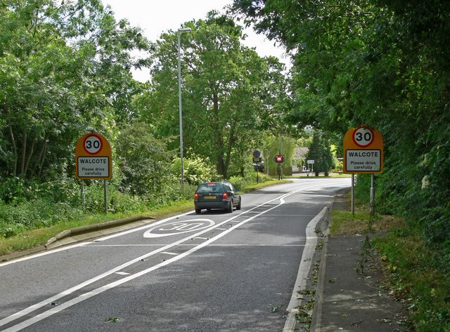 Lutterworth Road at Walcote