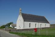 Church between Balgown & Kilvaxter