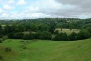 Farmland By Bailiff Bridge, Looking Northeast Towards Wyke