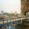 Tower Bridge from the  South Bank, London in 1989