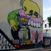 Street art off Gloucester Road