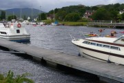 On the Caledonian Canal at Banavie