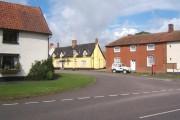 Village scene, Mendlesham