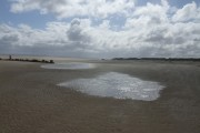 Looking towards Point of Ayr at low tide