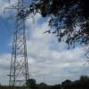 Pylon and power line