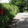 Lane junction at Firlands
