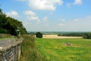 A view to the north from Faringdon