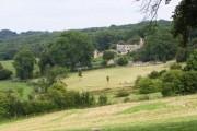Farm near Weston Park in the Cotswolds