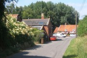 Newbourne village scene