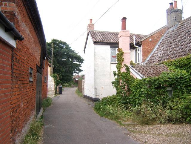 Back Lane, Claydon