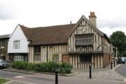 15th C houses, Church Lane, E17