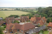 Hardwick from the church tower.