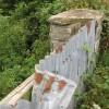 Remains of stone bridge
