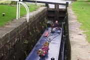 Narrow Boat on the Huddersfield Narrow Canal