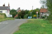 Crossroads in Willoughby-on-the-Wolds